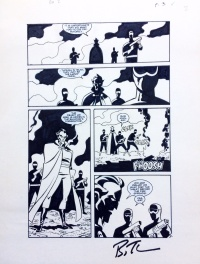 Batman Adventures Annual #2 page 3 by Bruce Timm