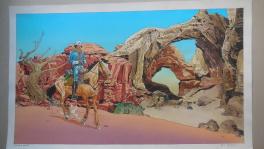 Hommage � giraud  arche  Comic Art