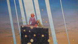Hommage � Moebius   raies de lumi�re Comic Art