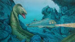 Hommage au film  le sous-marin de l'apocaypse  Comic Art