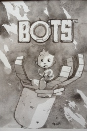 Illustration - type couverture série BOTS