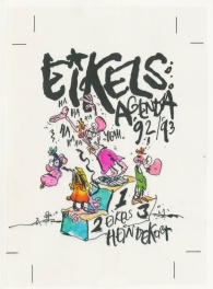 1992 - Eikels (Cover agenda in color - Dutch KV)