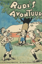 1928 - Rudi's avontuur (Bookcover in color - Dutch KV)