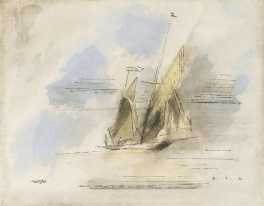 1930 - Yawl (Watercolor in color - American KV)