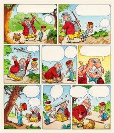 1973 - Puk en Poppedijn (Colored page - Dutch KV)