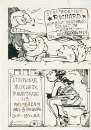 1977? - Tante Leny - Richard - Drukwerk (Advertising design - Dutch KV)