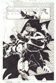 Gotham Underground #8, p. 3 Comic Art