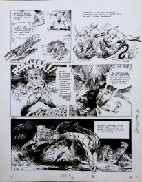 Comic Strip - Rahan - L'Herbe Miracle - planche 6