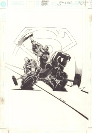 Superman: The Man of Steel #171, cover Comic Art