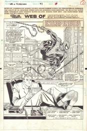 Web of Spider-Man #83, p. 1 Comic Art