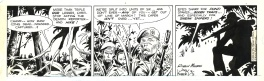Tales of the Green Berets . Daily comic strip . 8 /5 / 1966 .