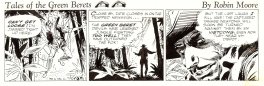 Tales of the Green Berets comic strip .( 1965 °