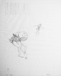 Abyss Union page 1 prelim par Jeffrey Jones