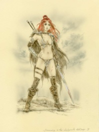 Dreaming in the Labyrinth 3 - Red Sonja