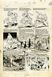 Valor #2 p29 EC comics (Comic Code censored)