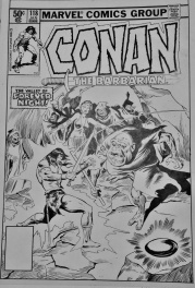 Buscema John - Conan the Barbarian Cover