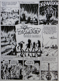 The Zumbies – Tome 1 – Page Titre – julien / CDM