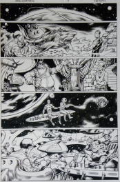Mark Nelson – MARVEL HOLIDAY SPECIAL 2007 – Histoire complète 6 Pages