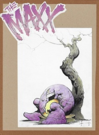 The Maxx Maxximized Issue 22 Cover