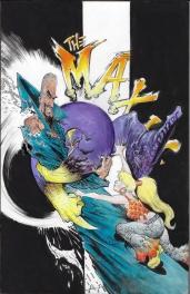 The Maxx Maxximized Issue 23 and Volume 5 hardcover TPB
