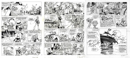 Dany : Olivier Rameau tome 4 planches 9,10,11