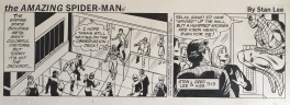 Fred Kida, Stan Lee, The Amazing Spider-Man, Daily Strip, novembre 1982