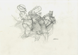 Batman – Prelim pour THE DARK PRINCE CHARMING 1/2