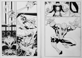 Spider-Man : Blue #1 pages 9 & 10