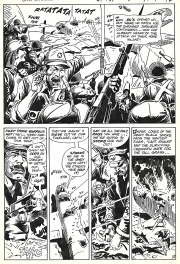 Star spangled War Stories # 151 p.10 . Unknow Soldier .