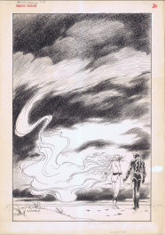 Marvel Fanfare #45 Inhumans by Charles Vess