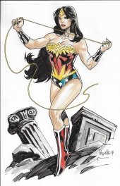 Yanic Paquette -  Wonder Woman Earth One