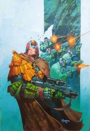 Jim Murray - 2000AD Cover for Prog2002 Retaliatory Strike