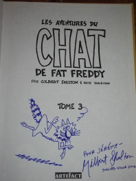 Le chat de fat freddy
