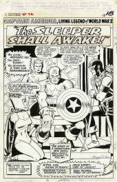 Tales of Suspense #72 - Captain America -  The Sleeper Shall Awake! planche 1