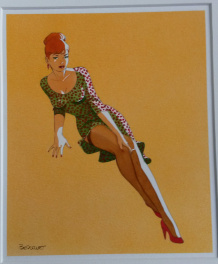 Pin Up rousse