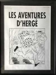 Alternatieve cover Les aventures d'Hergé