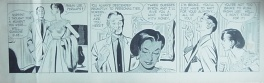 Alex Raymond - Rip Kirby strip 2568 dtd 5-16-54