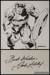 "Jack Kirby Signature ""Best Wishes"""