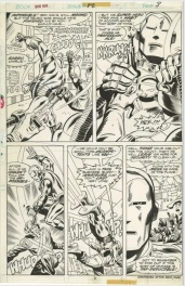 Iron Man #82 p.3 - Herb Trimpe & Jack Abel