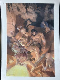 Esad Ribic, Conan the Barbarian, cover #6