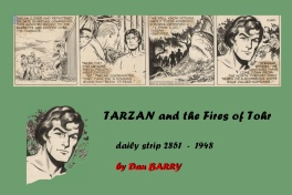 Dan BARRY - TARZAN daily strip 2851 - 1948