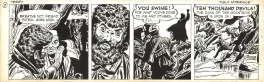 Terry & the Pirates - Daily strip