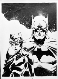 Scott Williams - Batman & Catwoman