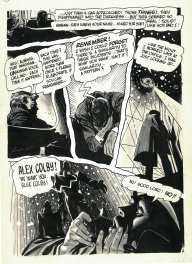 Alex Toth, Creepy 6. The Stalkers Page 3