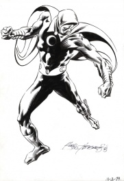 "Moon knight, ""pin up"""