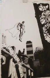 Superman cover : End of century by Stuart Immonen