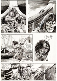 Planche 35 - The Savage Sword of Conan