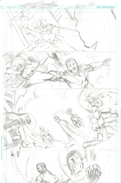 Blackest Night : JSA #3 page 7 (layouts)