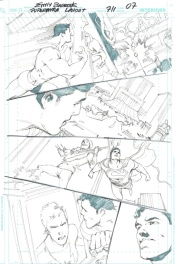 Superman #711 page 7 (layouts)
