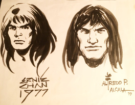 Conan faces